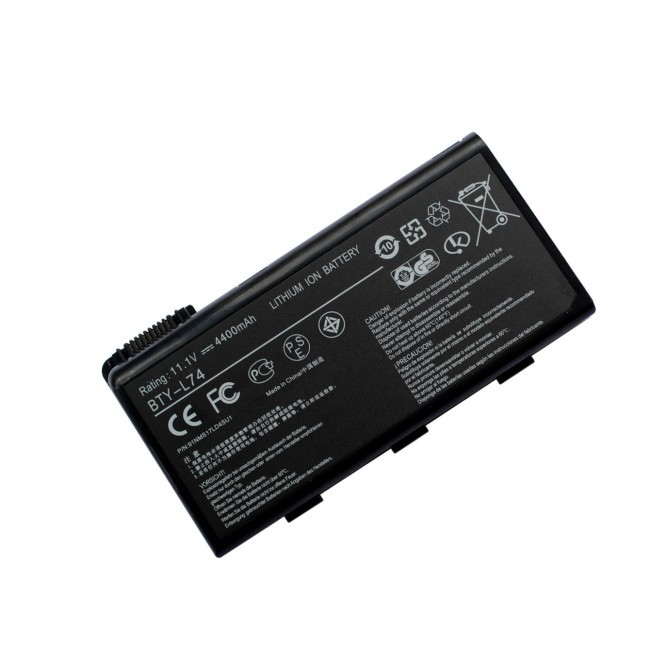 MSI 6 cells accu BTY-L74 voor CX- en CR- series