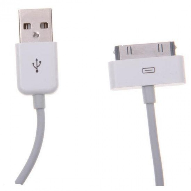 Apple data & charger kabel voor Iphone4/Ipod/Ipad - wit
