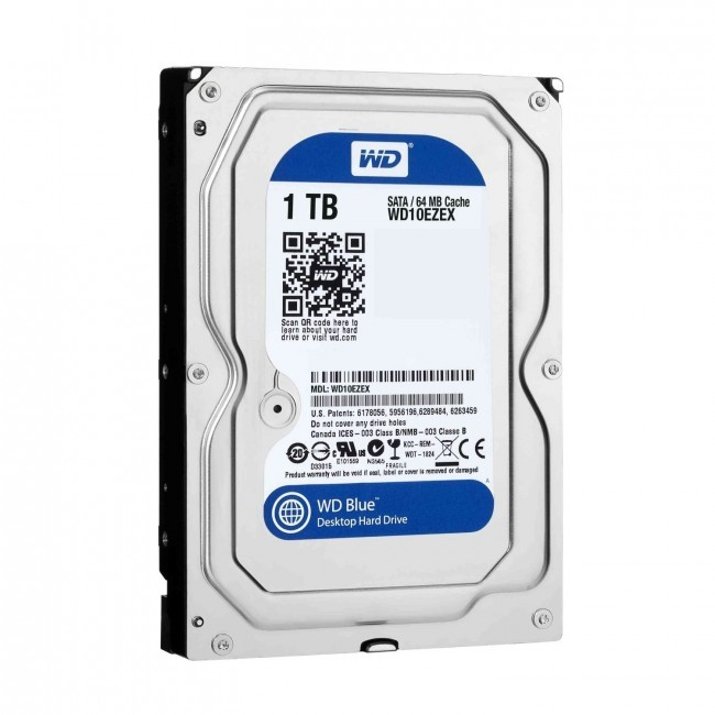 hdd 1TB sata3 WD 64MB Caviar Blue 7200rpm