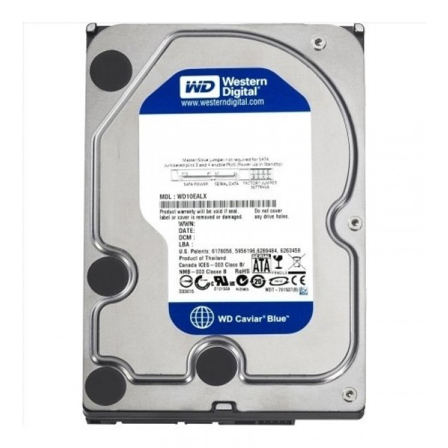hdd 4TB sata3 WD 64MB Caviar Blue 5400rpm