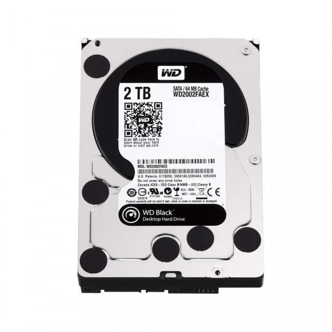 hdd 2TB sata3 WD 64MB Caviar Black 7200rpm