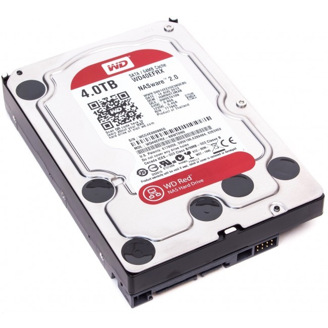 hdd 4TB sata3 WD 64MB Caviar Red - voor NAS