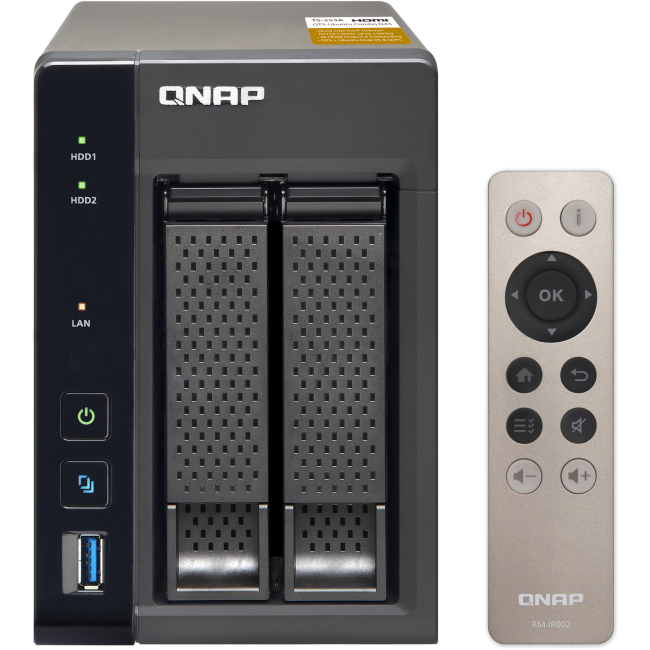 QNAP NAS TS-253A - Intel quad/8GB/2x hdd bay