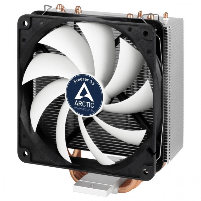 Arctic Freezer 33 koeler voor Intel 2066 en AMD AM4