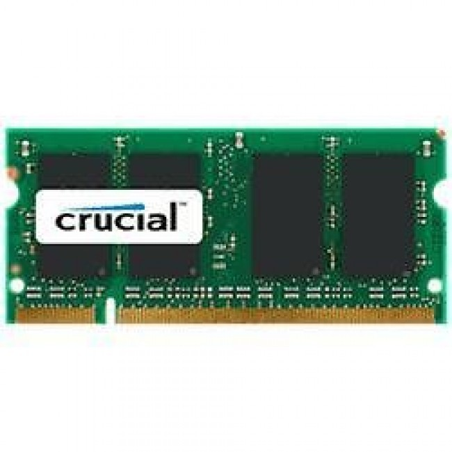 ddr2 - so-dimm 1GB geheugen 800MHz - PC6400