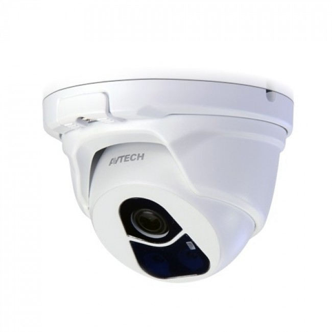 Avtech IP outdoor mini dome camera DGM1104 met IR