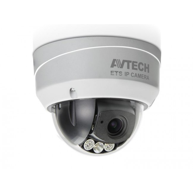 Avtech IP outdoor dome camera AVM542 met IR
