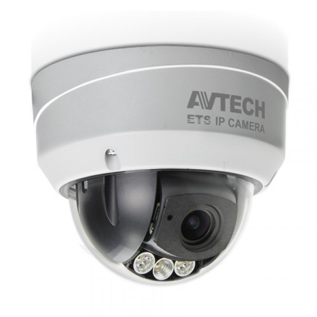 Avtech IP outdoor dome camera AVM543 met IR